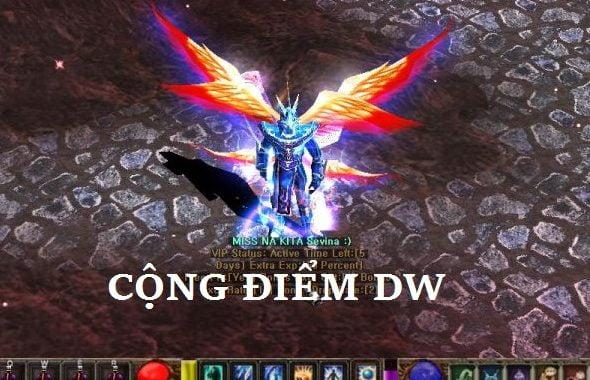 Cộng điểm DW Train, Săn Boss, Pk, Buff trong game Mu