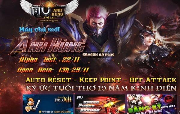 Mu Anh Hùng Season 6.9 Plus, Không Webshop, OB 25/11