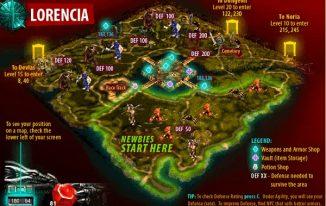 Hệ thống các map trong Mu Online