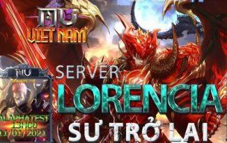 Việt Nam Mu SS 2.0 Máy chủ LORENCIA 13/1/2021