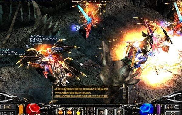 Cách tăng master 4 tất cả Class trong Mu Online