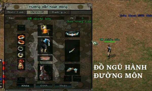 Cách mặc đồ Đường Môn, build đồ & chọn vũ khí