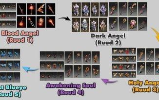 Ruud Mu: Cách kiếm, mua set, vũ khí và nâng cấp Ruud