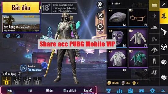 acc pubg free vip