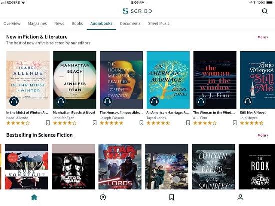 Share tài khoản Scribd Premium