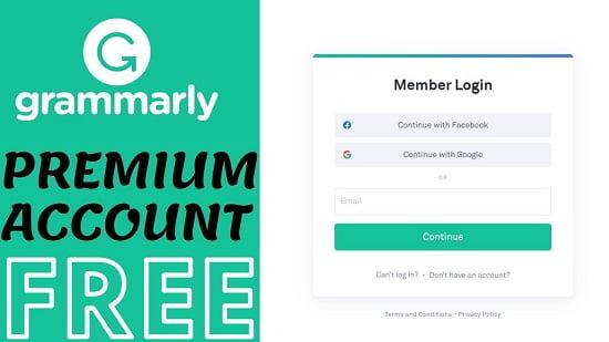 chia sẻ tài khoản Grammarly Premium