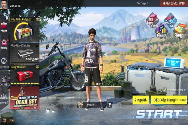 các game battle royale mobile