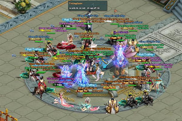 Game cày cuốc Online kiếm hiệp