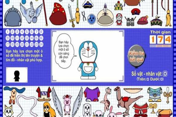 Doraemon thử tài trí nhớ