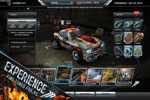Game đua xe PC nhẹ