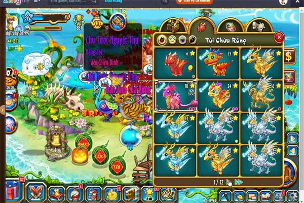 game Đảo Rồng lậu
