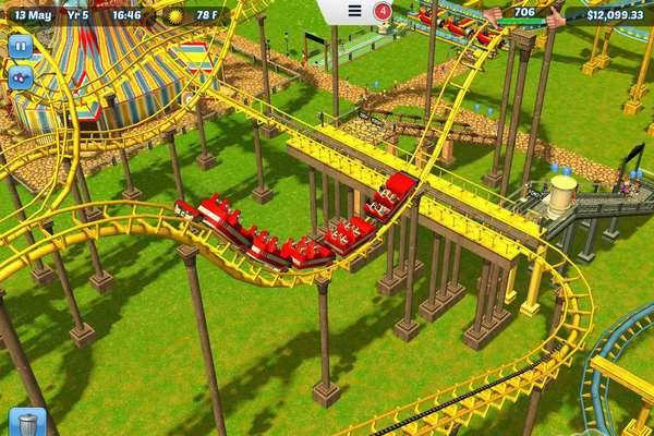 game RollerCoaster Tycoon