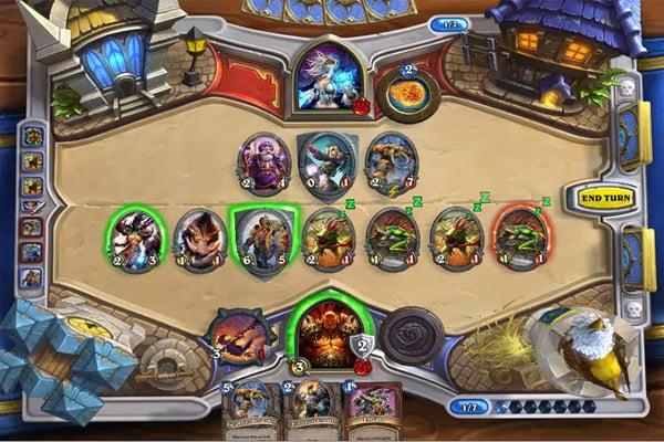 game thẻ bài vui