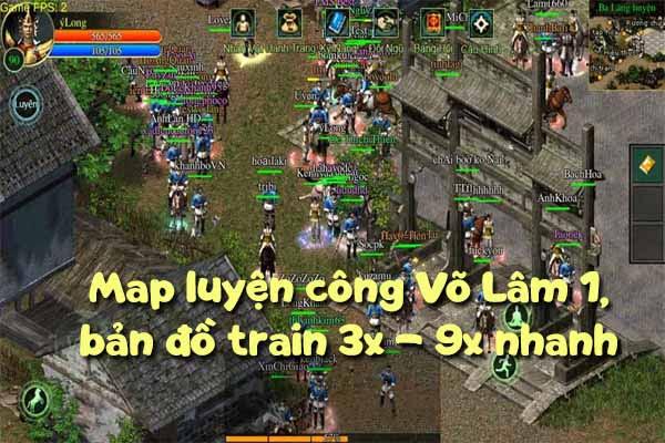 Map luyện công Võ Lâm 1