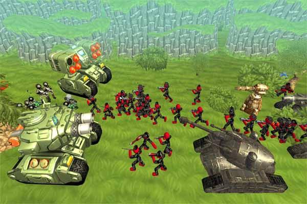 game bắn xe tăng 2 người