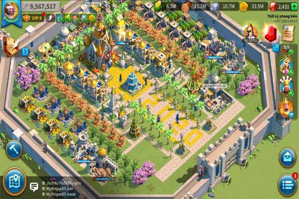 game giả lập Rise Of Kingdoms