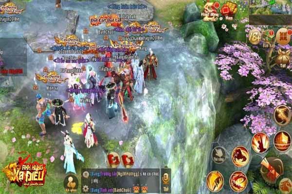 Game mobile kiếm hiệp